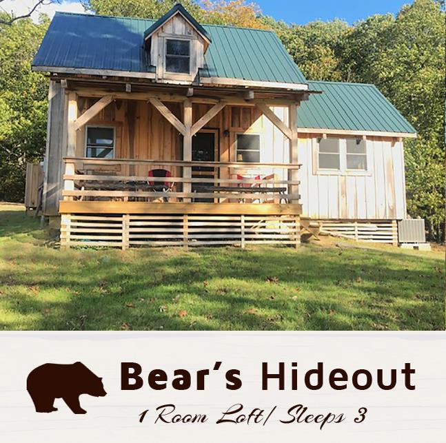 Rustic Cabin Rentals in Ohio, Adams County | Hawks View Cabins